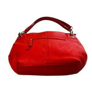Tignanello bag/purse red color. All leather soft